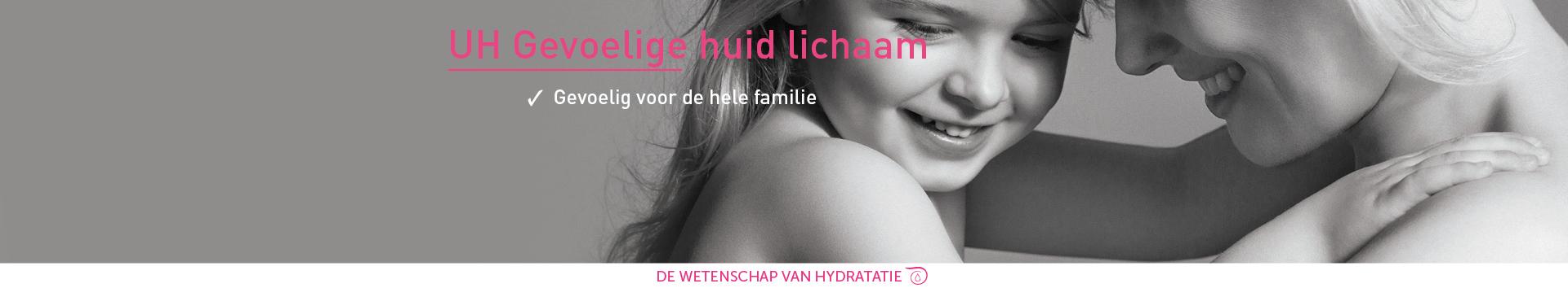 UH - Gevoelige huid Lichaam