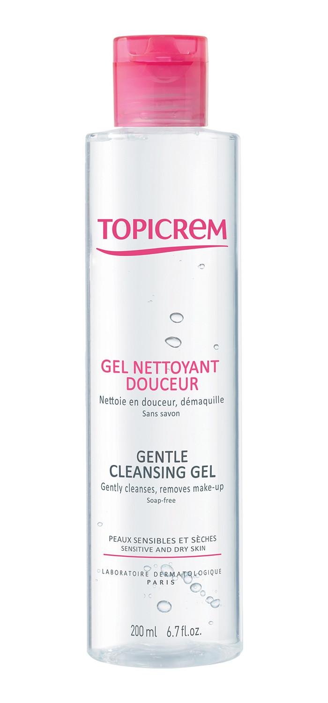 topicrem laboratoire dermatologique gel nettoyant douceur uh peaux sensibles visage gammes. Black Bedroom Furniture Sets. Home Design Ideas
