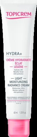 HYDRA+ Crème Hydratante Éclat Légère